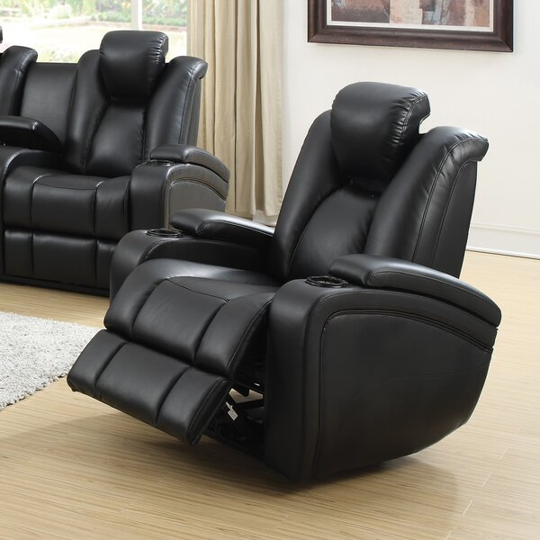 Bissette Power Wall Hugger Recliner by Red Barrel
