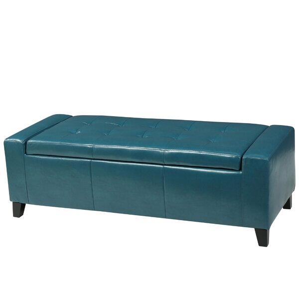 Dunnell Tufted Storage Ottoman by Latitude Run
