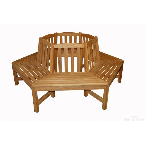 Teak Tree Garden Bench by Rosecliff Heights Rosecliff Heights