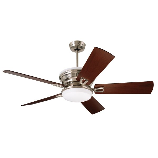 54 Millbury 5 Blade LED Ceiling Fan by Red Barrel Studio