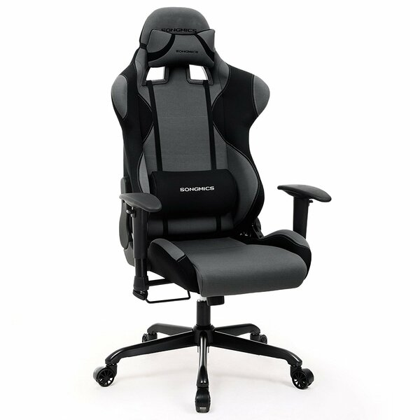Eudy High-Back Racing Sport Ergonomic Gaming Chair by Rebrilliant