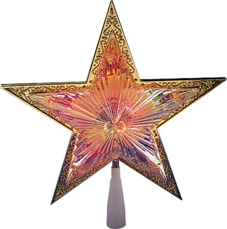 Lighted with Trim Star Christmas Tree Topper by Vickerman