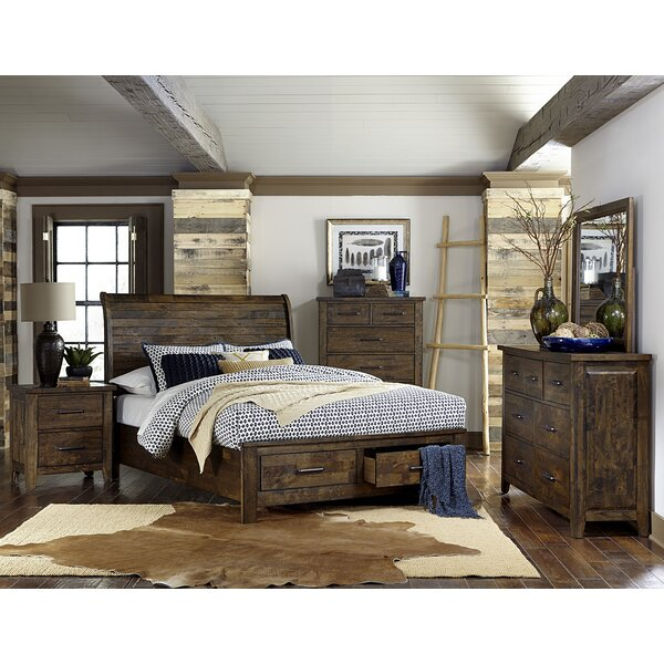 Amey Queen Platform Configurable Bedroom Set by Foundry Select