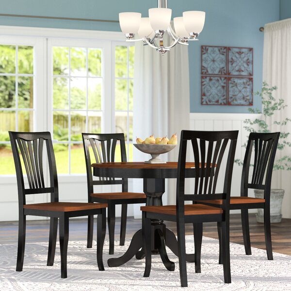 Alcott Hill Ranshaw 5 Piece Dining Set Amp Reviews Wayfair
