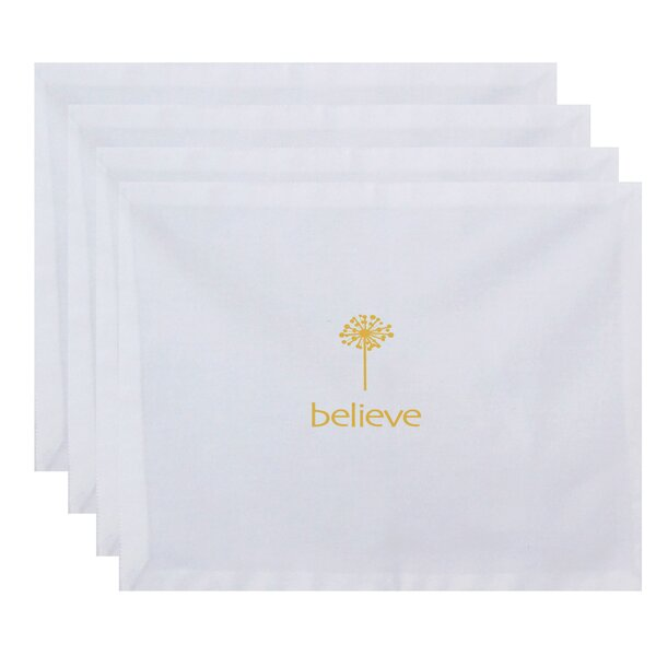 Odile Make a Wish Print Placemat (Set of 4) by Latitude Run