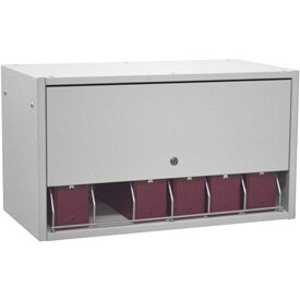 Retractable Storage Cabinet by Omnimed