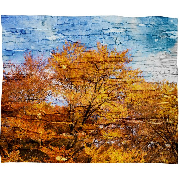 An Autumn Day Throw Blanket by East Urban Home