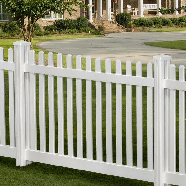 4 ft. H x 7 ft. W Traditional Classic Fence Panel
