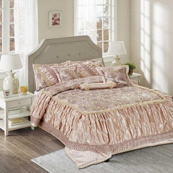 Syrna 6 Piece Reversible Comforter Set