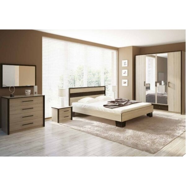 Carlets Queen Standard Configurable Bedroom Set by VVRHomes