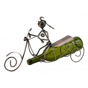 Scooter 1 Bottle Tabletop Wine Rack by Three Star Im/Ex Inc.