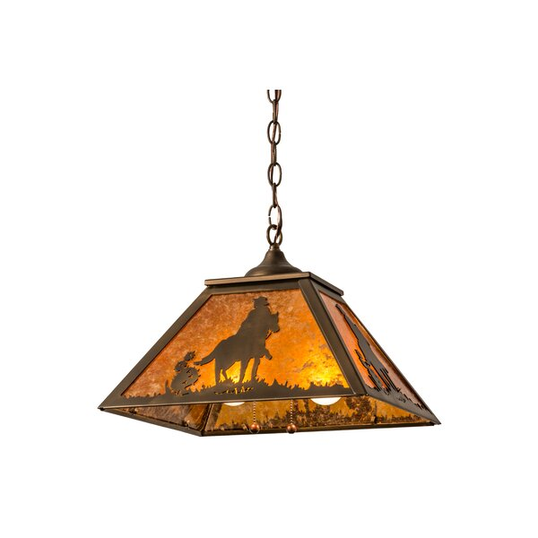Falbo Cowboy 2-Light Novelty Chandelier by Millwood Pines