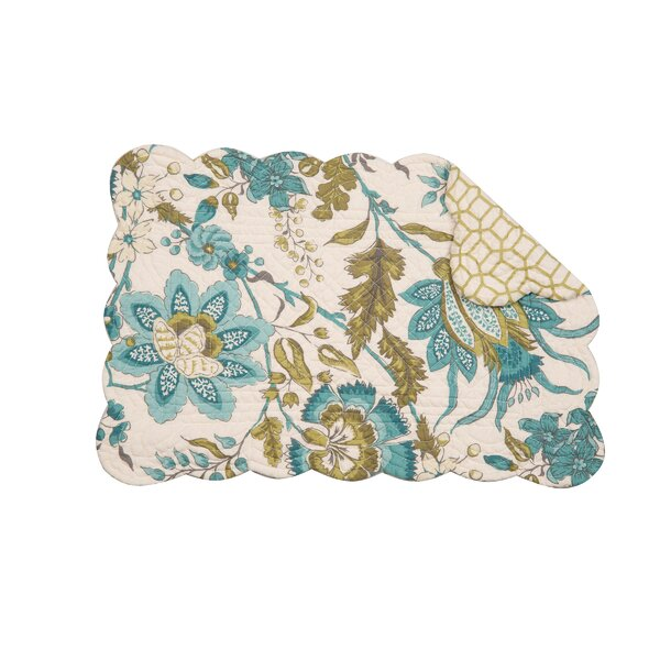 Adrienne Meadow 19 Placemat (Set of 6) by C&F Home