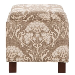 Shelley Square Storage Ottoman by Madison Park