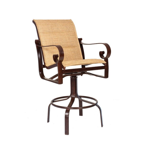 Belden Swivel Patio Bar Stool by Woodard