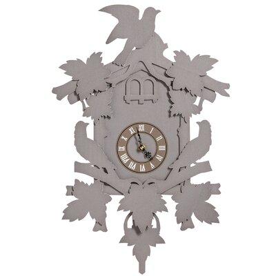 Niemi Wall Clock August Grove� Finish: Gray