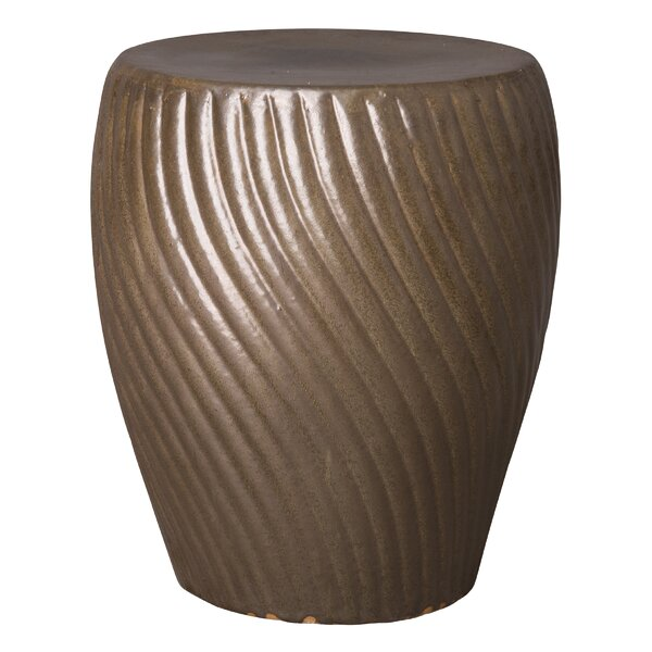 Boger Spiral Garden Stool by World Menagerie
