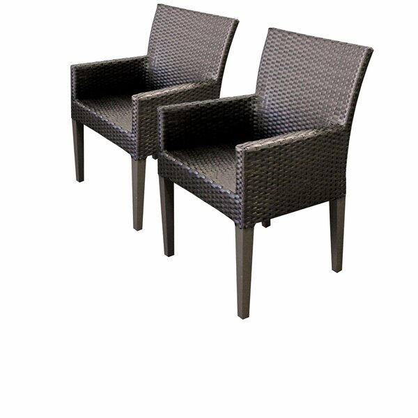 Medley Patio Dining Chair (Set of 2) by Rosecliff Heights