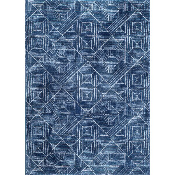 Pensford Blue Area Rug by Bungalow Rose
