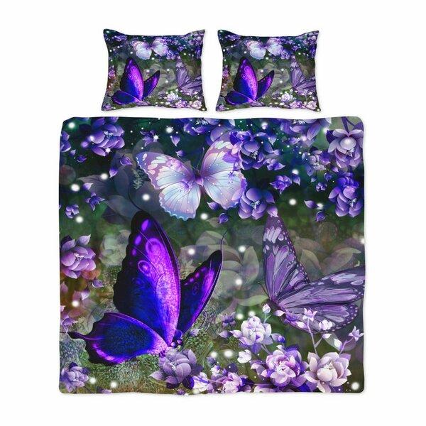 Aremllini Boho Butterflies Duvet Cover Set