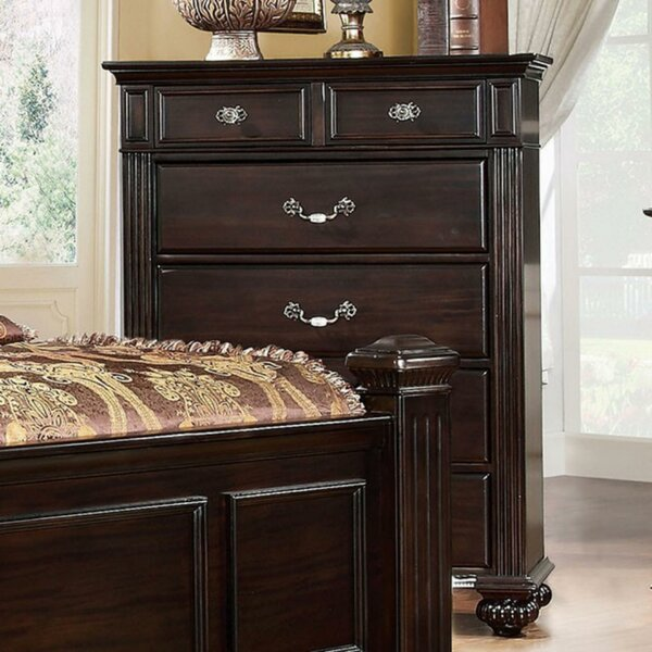 Theobald Transitional 6 Drawer Chest by Astoria Grand Astoria Grand