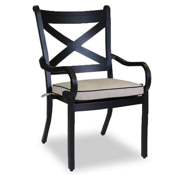 Monterey Patio Dining Chair with Cushion by Sunset West
