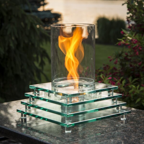 The Outdoor GreatRoom Company Harmony Gel Fuel Tabletop Fireplace U0026 Reviews  | Wayfair