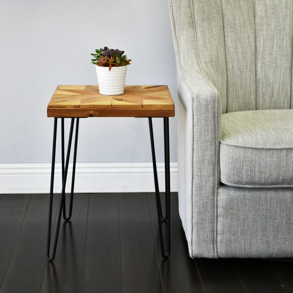 Chrisley Star Old Elm Wood End Table By Union Rustic