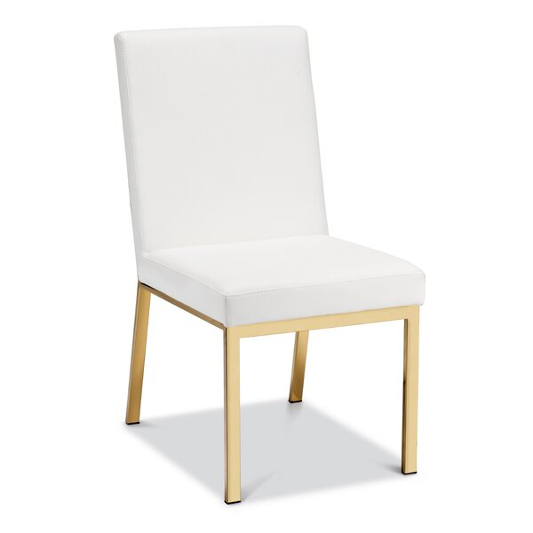 Annis Upholstered Dining Chair (Set of 2) by Everly Quinn Everly Quinn
