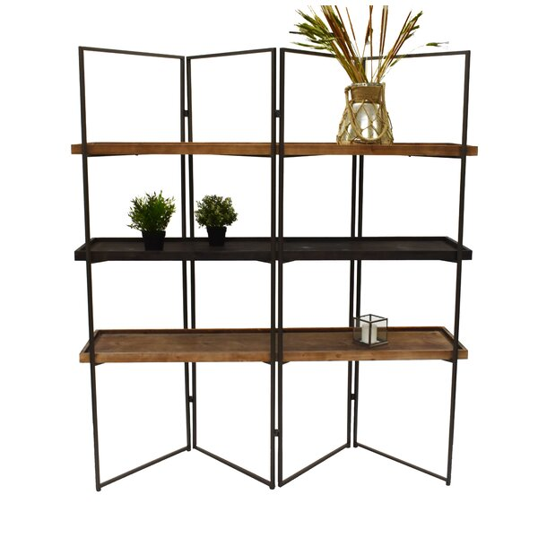 Mauzy 3 Layers Shelf Library Bookcase By Williston Forge