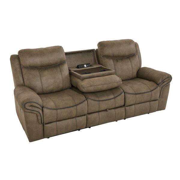 Roloff Reclining Sofa by Charlton Home
