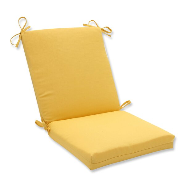 Forsyth Soleil Indoor/Outdoor Dining Chair Cushion by Pillow Perfect