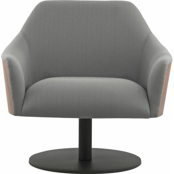 Henry Swivel Armchair by Modloft Black