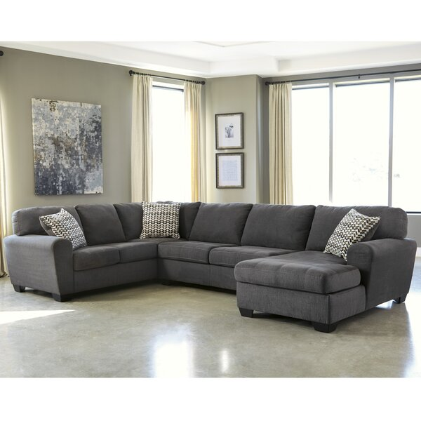Knights Reversible Sectional by Brayden Studio