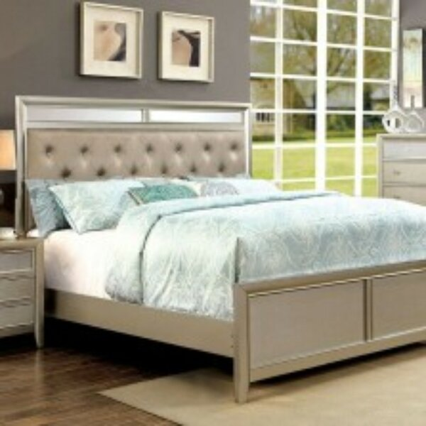 Sorenson Upholstered Platform Bed by Alcott Hill