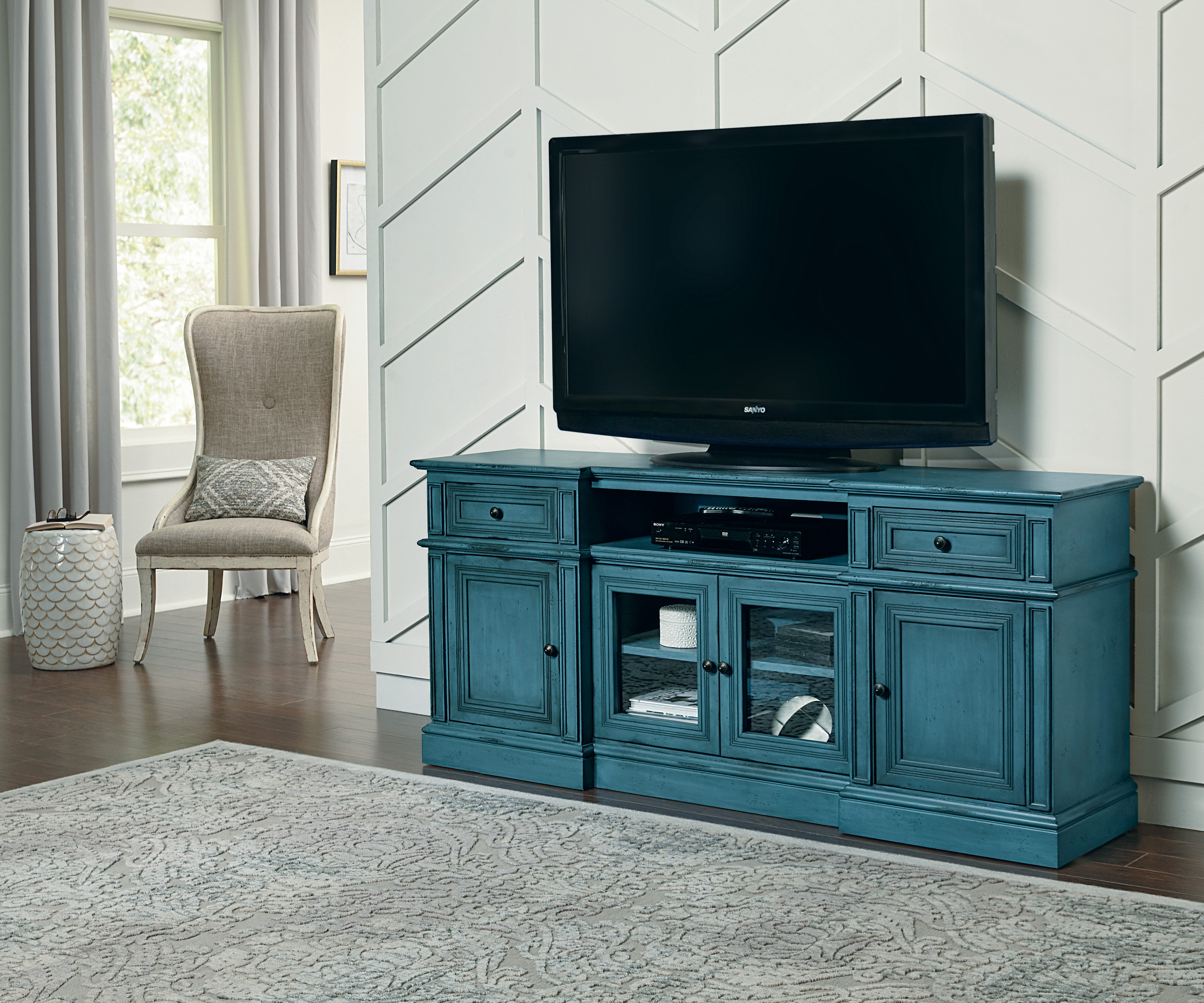 Darby Home Co Angelena Tv Stand For Tvs Up To 85 Reviews Wayfair