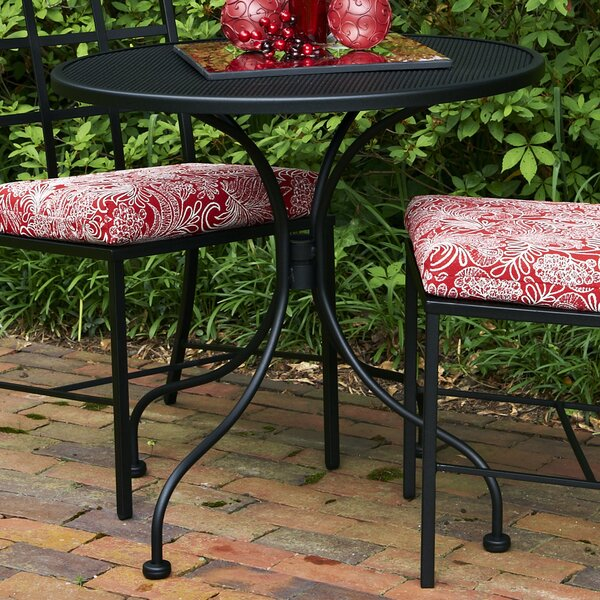Midsomer Metal Bistro Table by Canora Grey