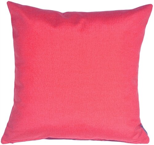 Ovid Sunburst Petunia Outdoor Throw Pillow