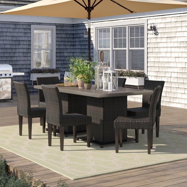 Stratford 8 Piece Dining Set by Sol 72 Outdoor