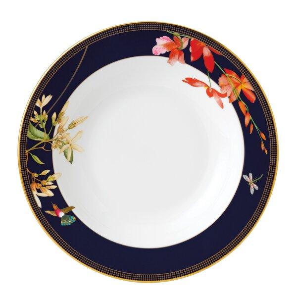 Hummingbird Rim 9 Bone China Dinner Plate