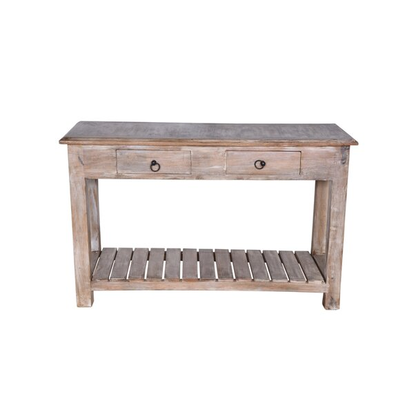 Meadowbrook 2 Drawer Console Table By Millwood Pines