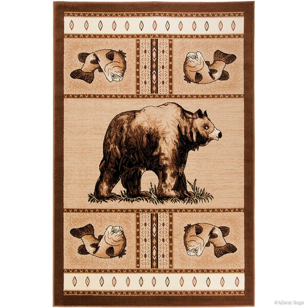 Hand-Woven Brown Area Rug by AllStar Rugs