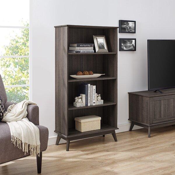 Cabral Tall Media Storage Organizer Standard Bookcase By Corrigan Studio