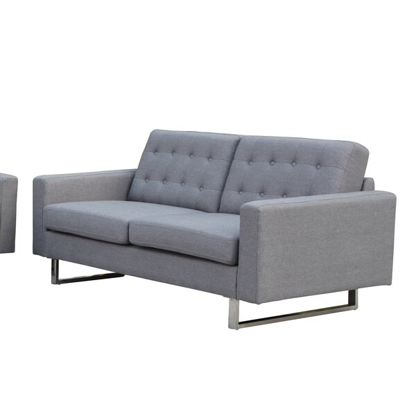 Bargains Beneva Loveseat by New Spec Inc by New Spec Inc