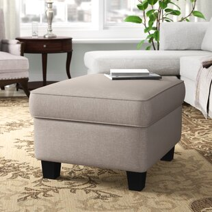 Calloway Cocktail Ottoman by Andover Mills