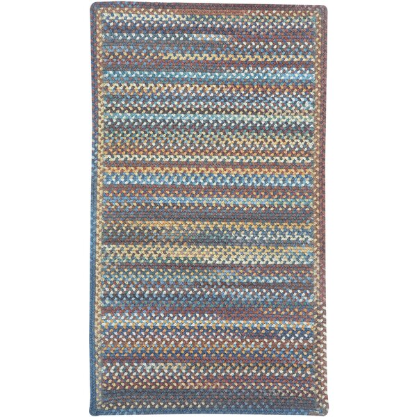 Phoebe Medium Blue Multi Rug by August Grove