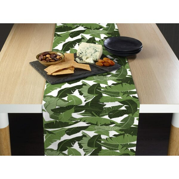 Rockridge Large Palms Milliken Signature Table Runner by Bay Isle Home