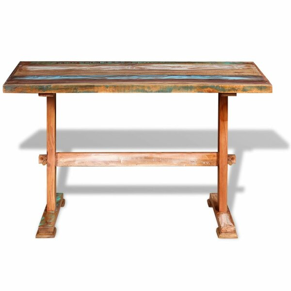 Bailee Solid Wood Dining Table by World Menagerie