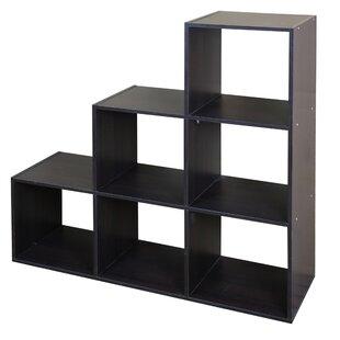 Modern Wood Stackable 6 Standard Bookcase