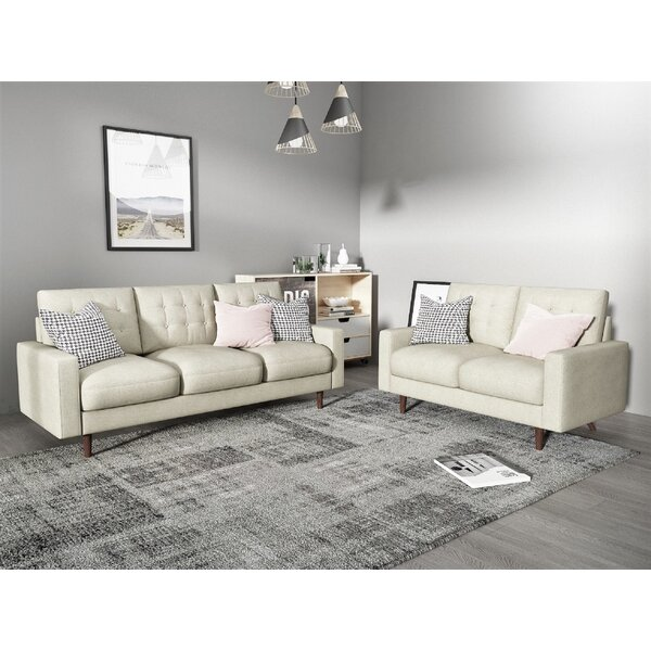 Sumner 2 Piece Living Room Set by 17 Stories